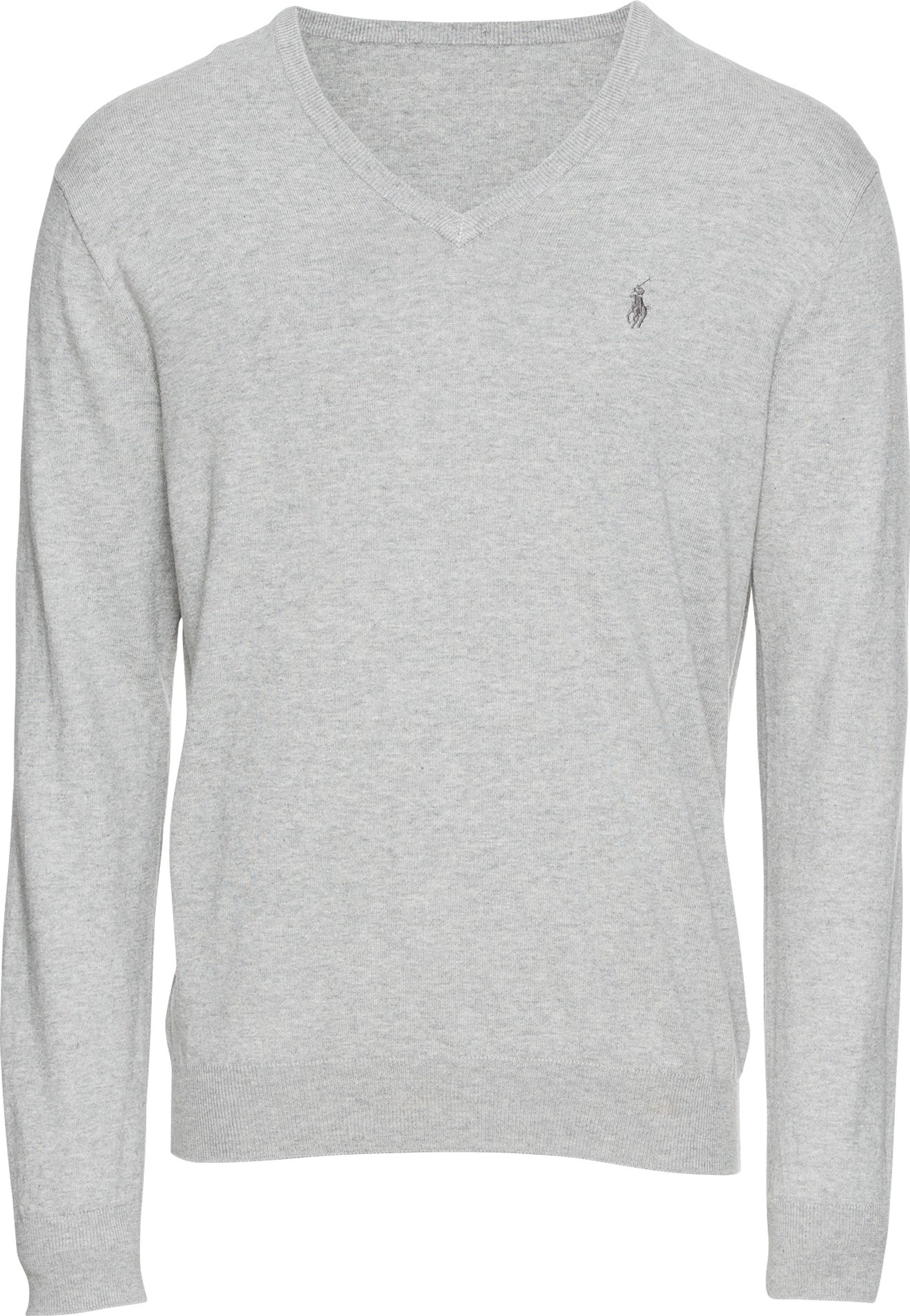 POLO RALPH LAUREN Svetr LS SF VN PP-LONG SLEEVE-SWEATER šedá Polo Ralph Lauren