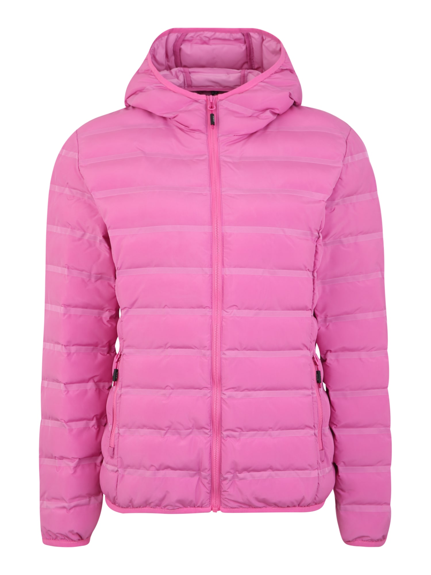 Outdoorová bunda WOMAN JACKET FIX HOOD pink CMP