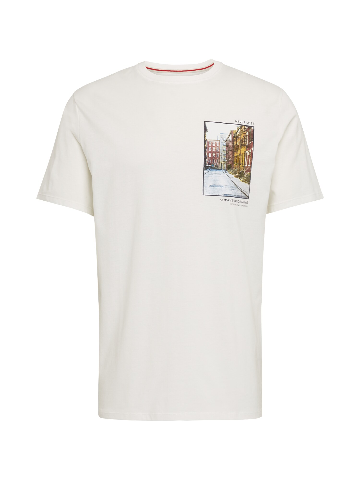 SELECTED HOMME Tričko SLHDON SS O-NECK TEE W EX offwhite Selected Homme