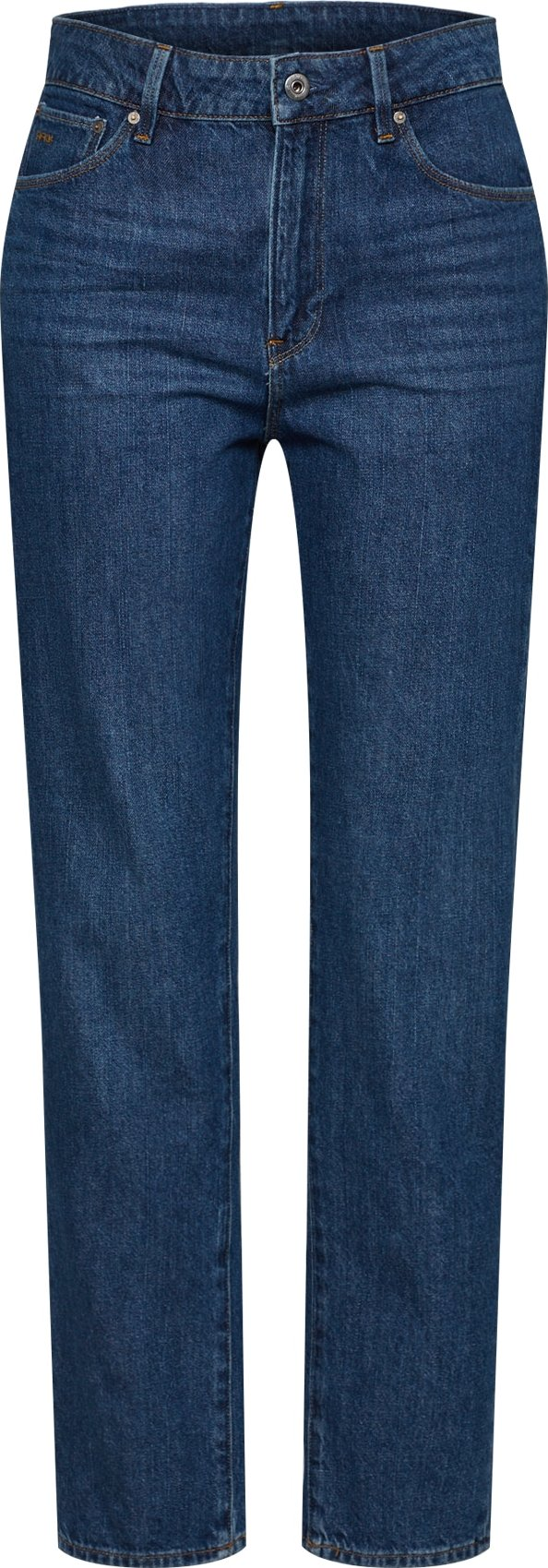 G-Star RAW Džíny 3301 High Straight 90s Ankle Wmn modrá G-Star Raw