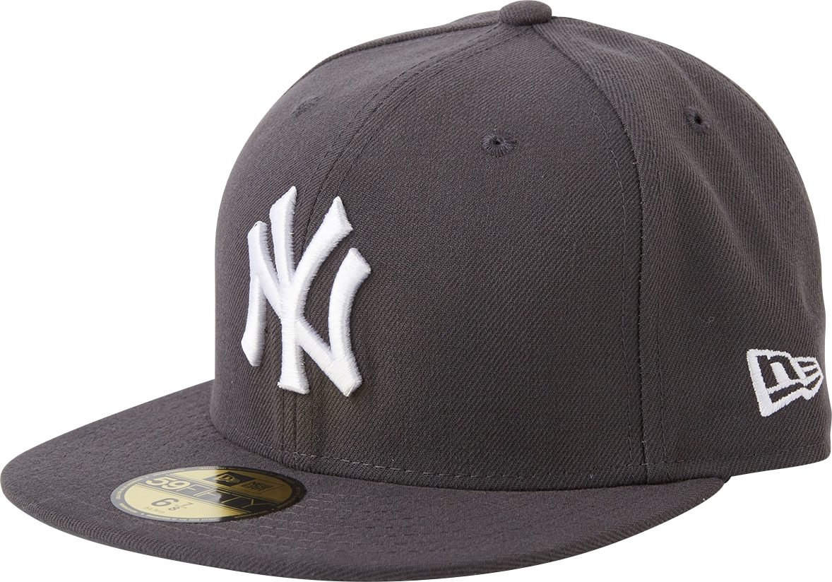 NEW ERA Kšiltovka 59FIFTY MLB Basic New York Yankees šedá tmavě šedá \New Era