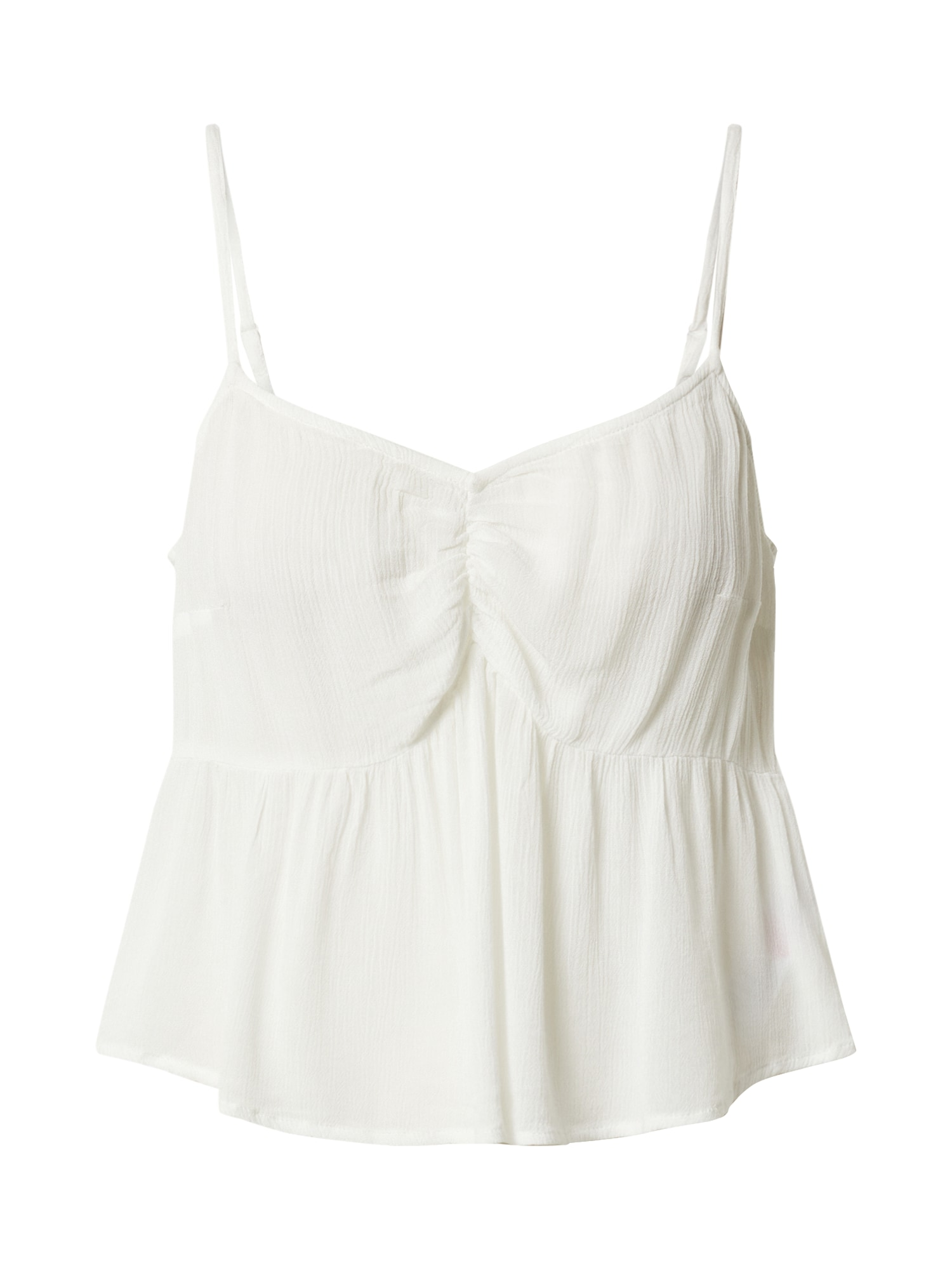 Top DT:IVORY RUCHED CAMI krémová Miss Selfridge