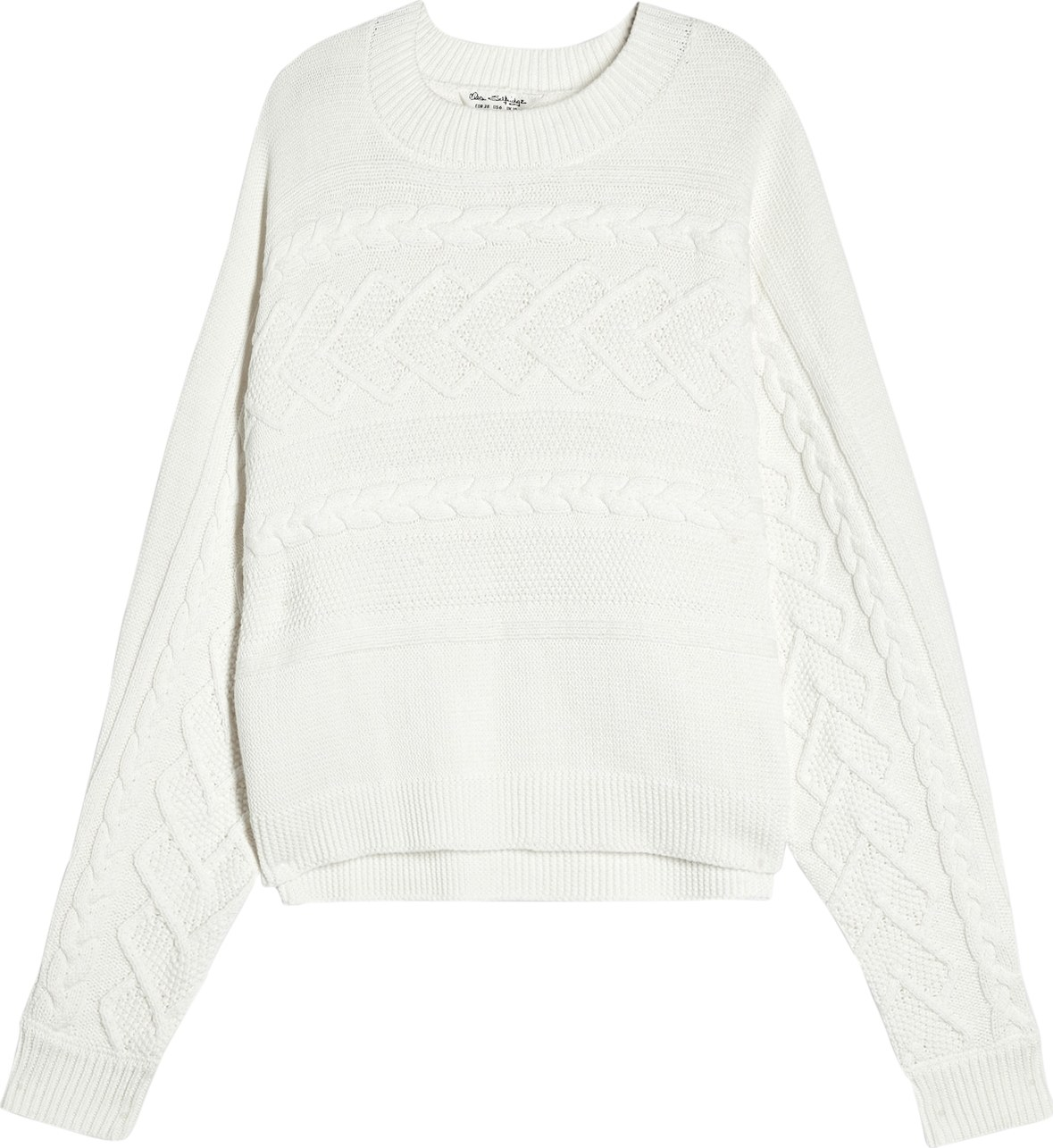 Svetr DT:CABLE BATWING offwhite Miss Selfridge