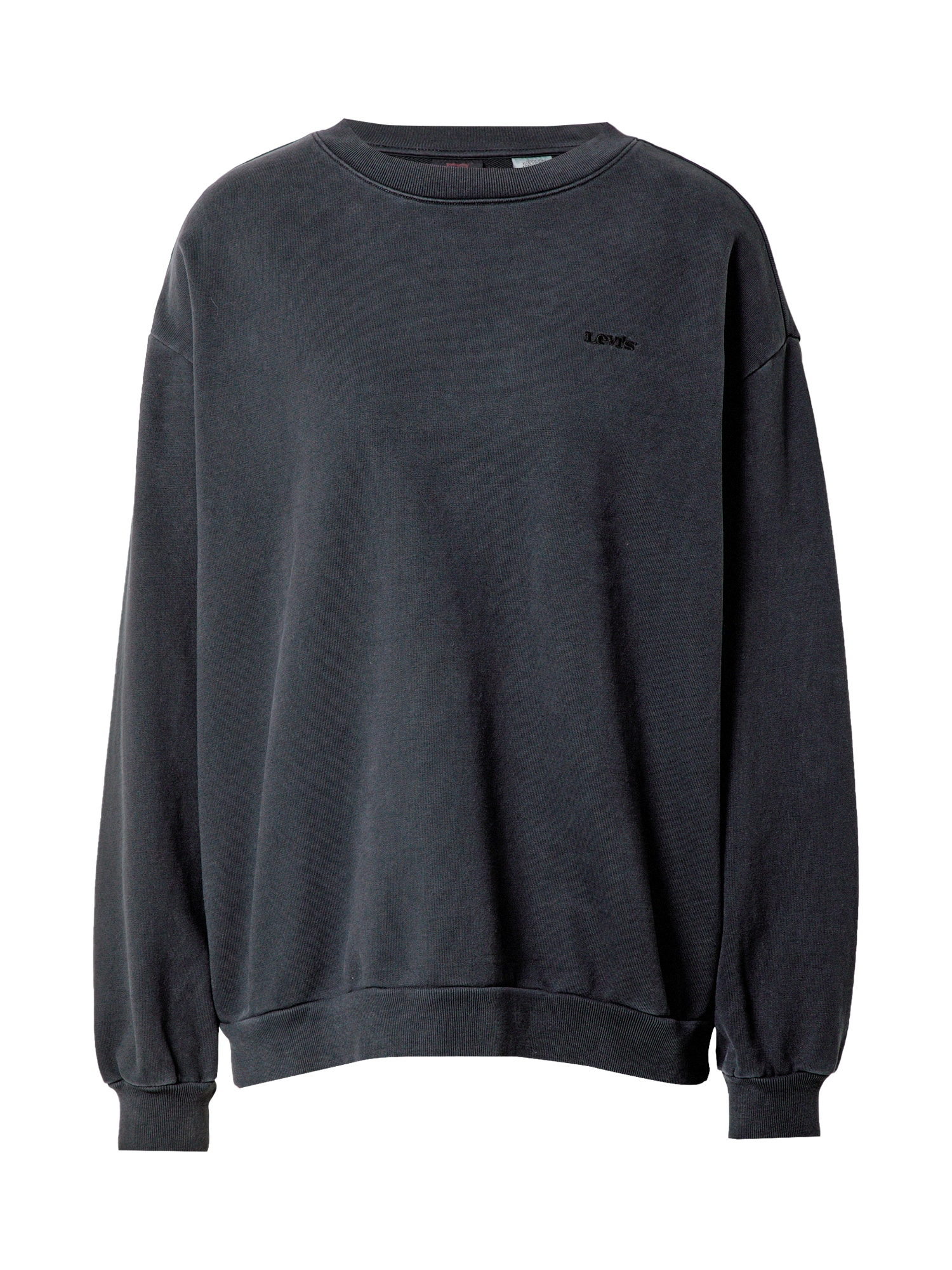 LEVIS Mikina Melrose Slouchy Crew antracitová Levis