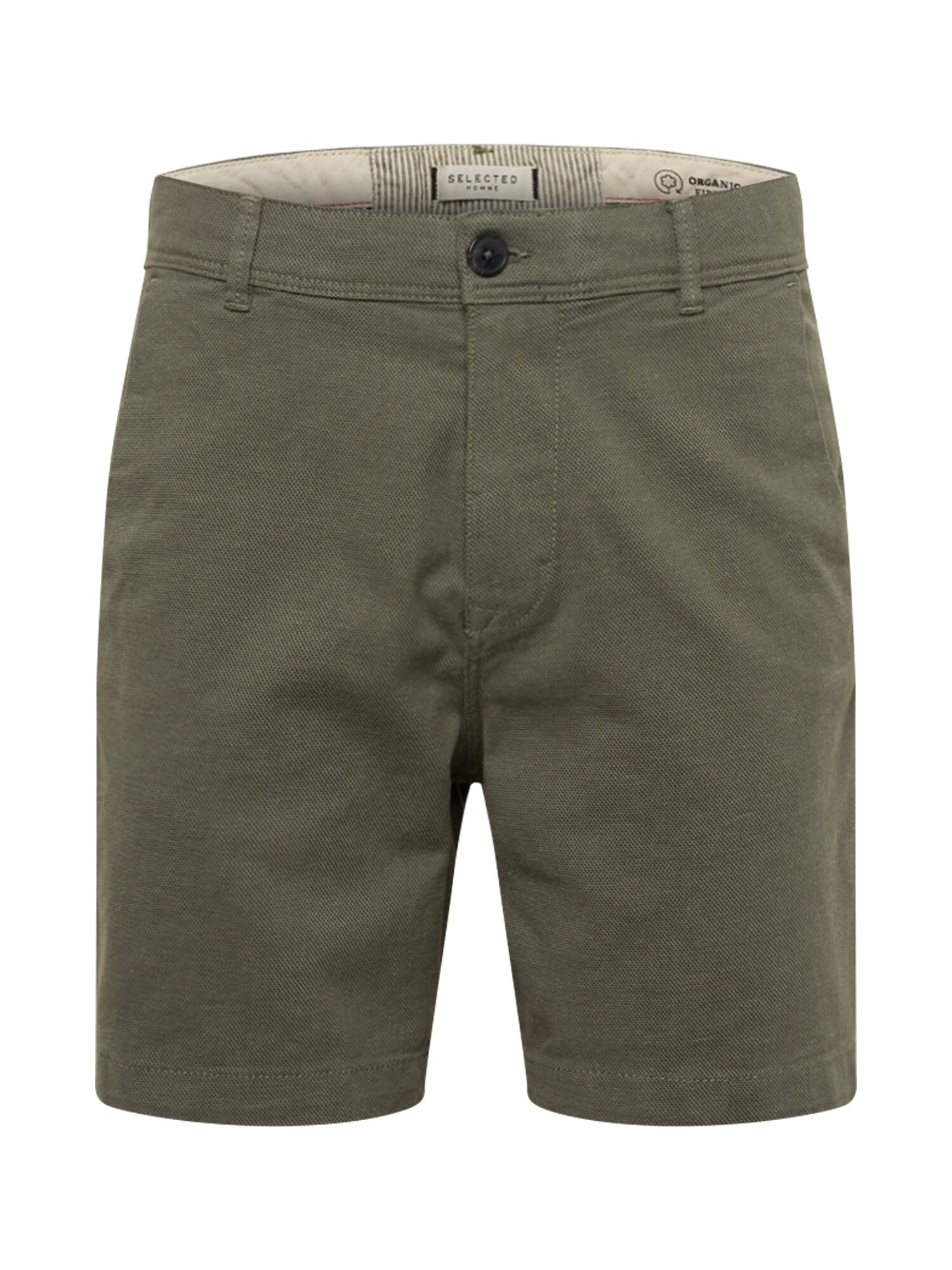 SELECTED HOMME Chino kalhoty STORM zelená Selected Homme
