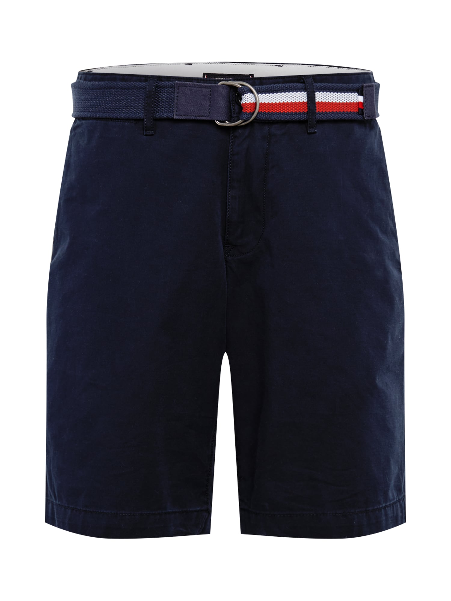 TOMMY HILFIGER Chino kalhoty BROOKLYN SHORT LIGHT TWILL BELT modrá Tommy Hilfiger