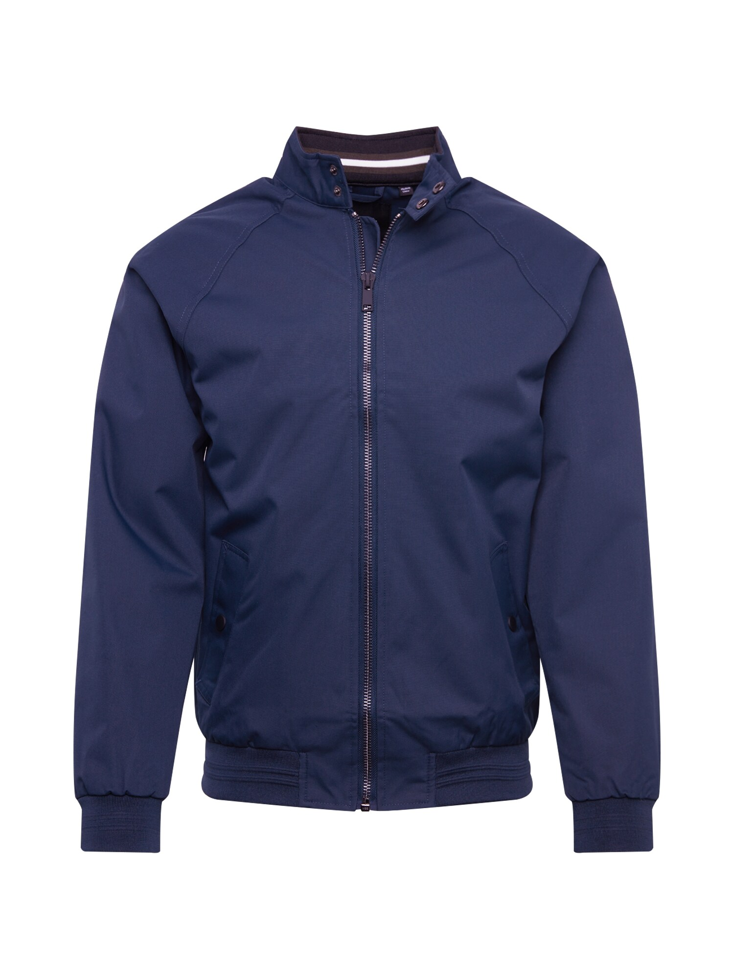 BURTON MENSWEAR LONDON Přechodná bunda navy core harrington all námořnická modř Burton Menswear London