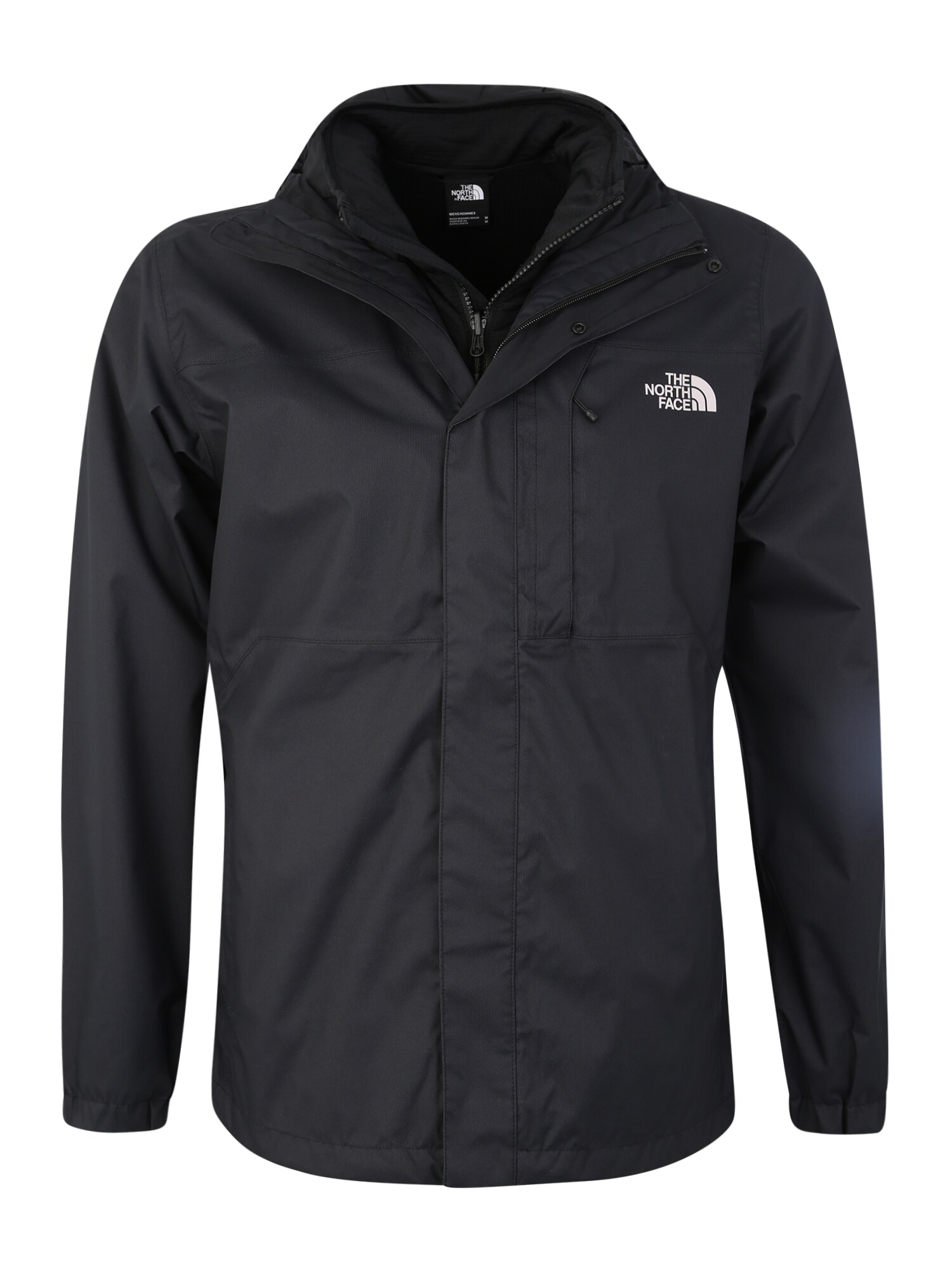 THE NORTH FACE Sportovní bunda Men's Quest Triclimate® Jacket černá bílá The North Face
