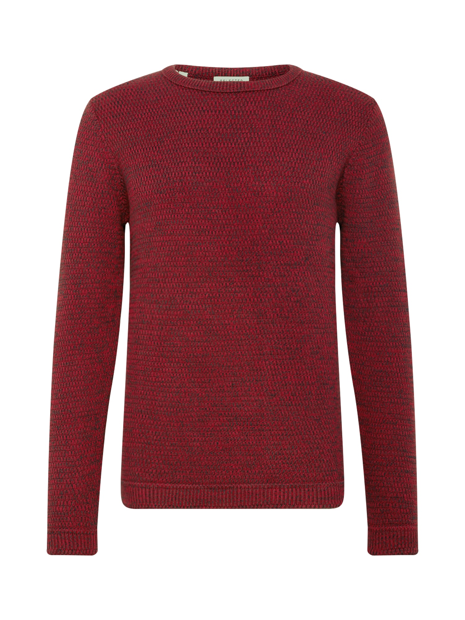 SELECTED HOMME Svetr SLHVICTOR CREW NECK W NOOS červená Selected Homme
