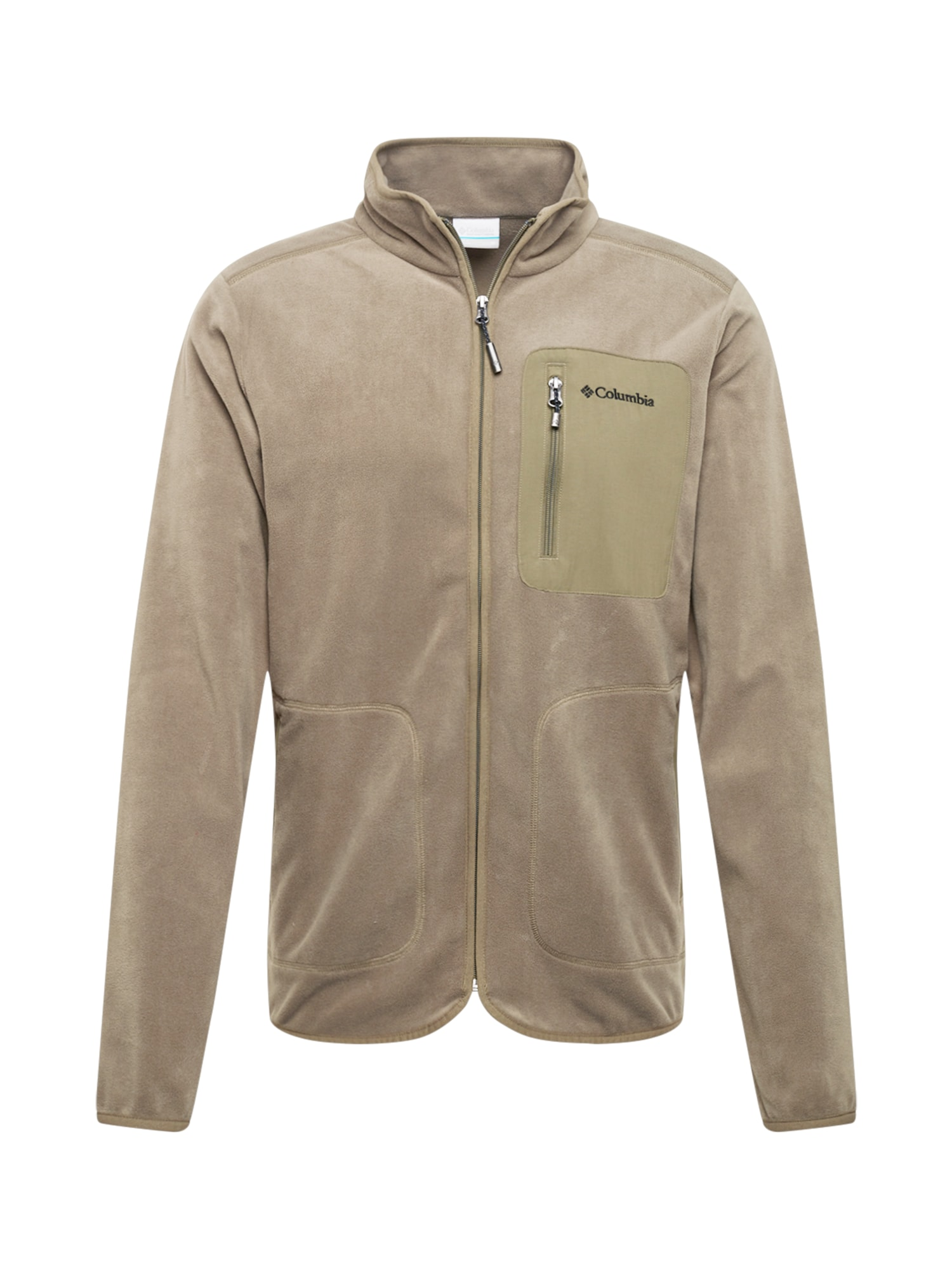 COLUMBIA Fleecová mikina Exploration khaki Columbia