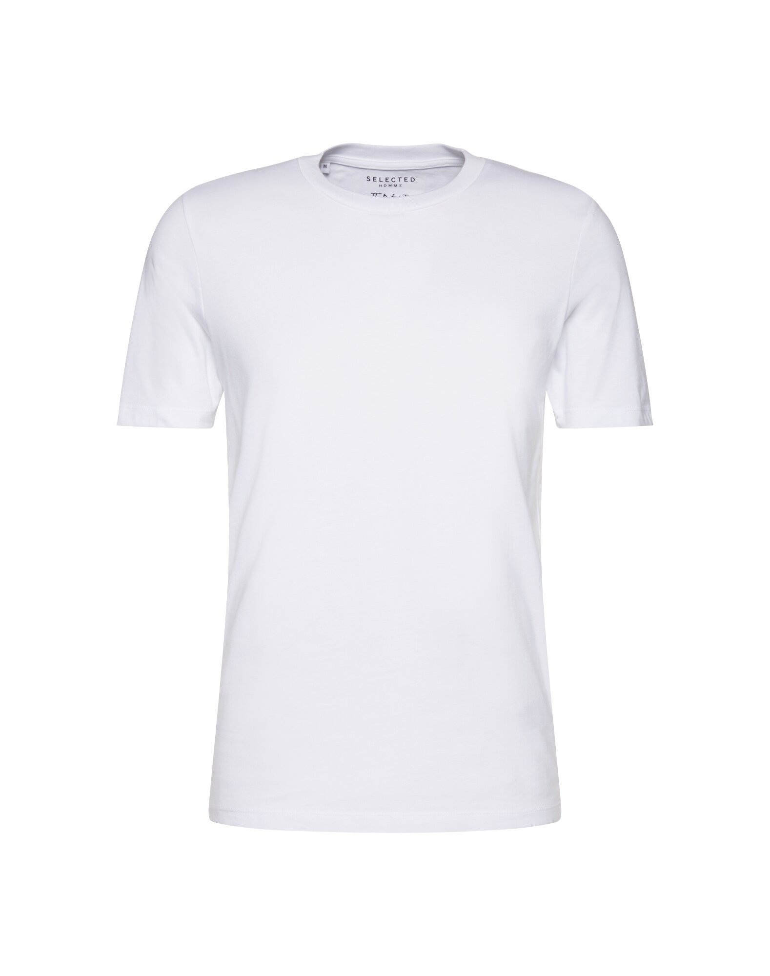 SELECTED HOMME Tričko SHDTHEPERFECT SS O-NECK TEE NOOS bílá Selected Homme