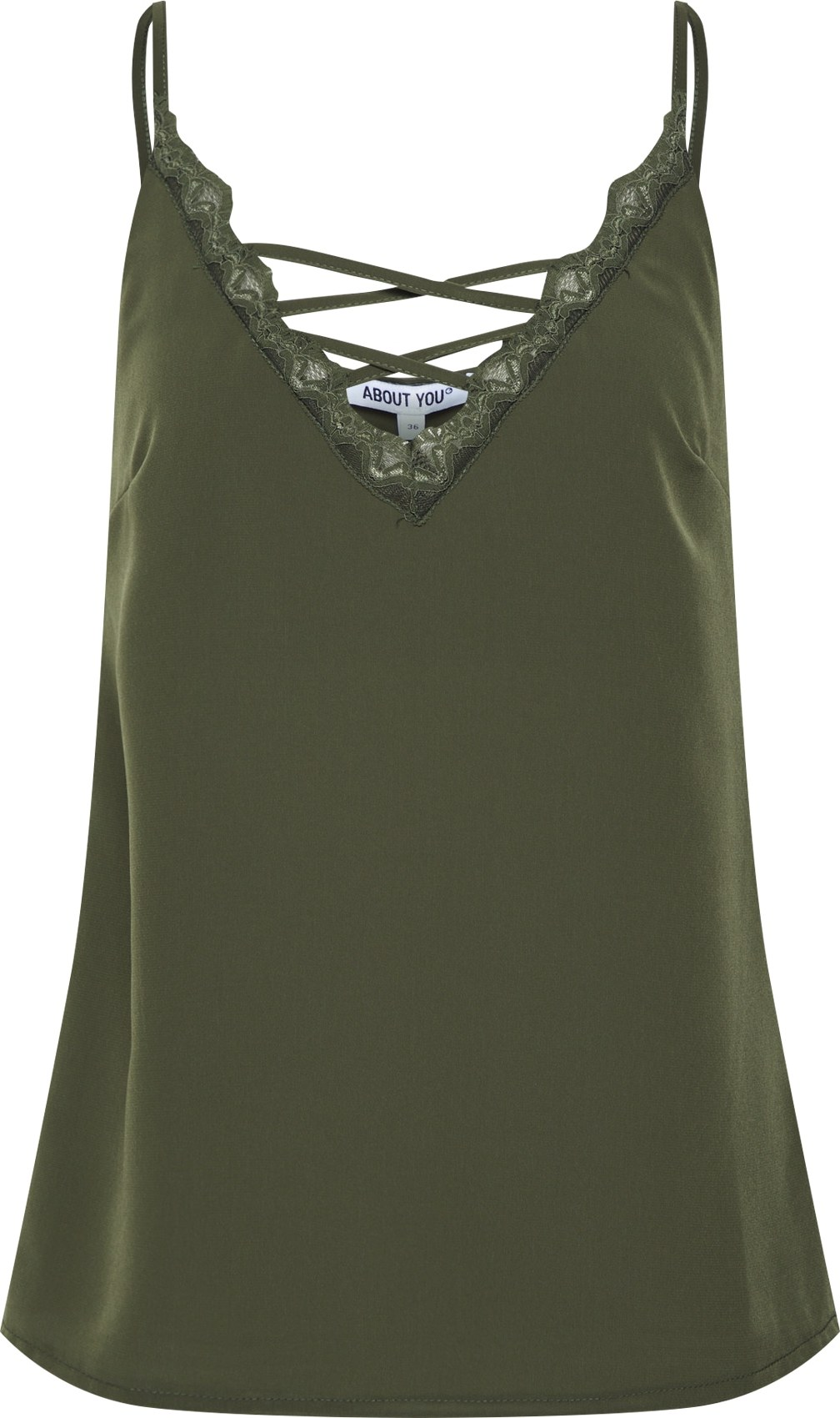 Top Josephina khaki ABOUT YOU
