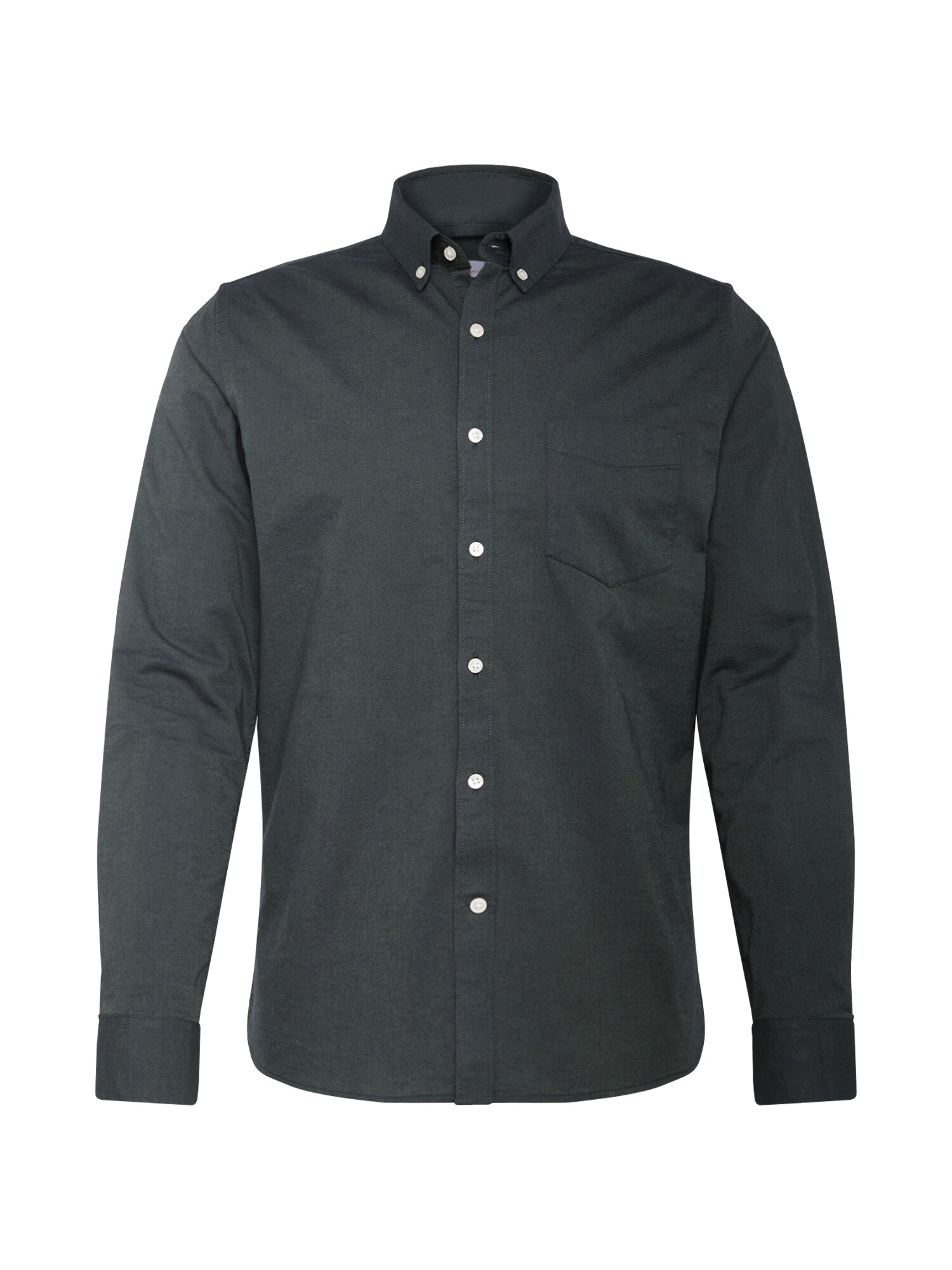 Košile Strethced oxford shirt jedle KnowledgeCotton Apparel