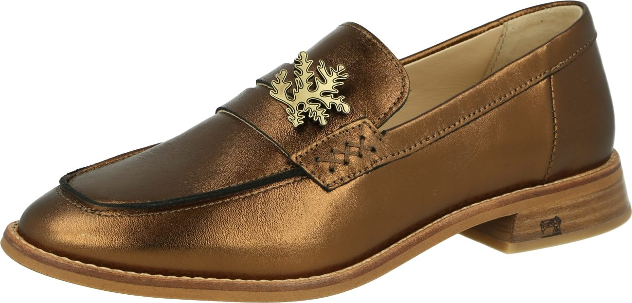 SCOTCH SODA Slipper Loel bronzová Scotch & Soda