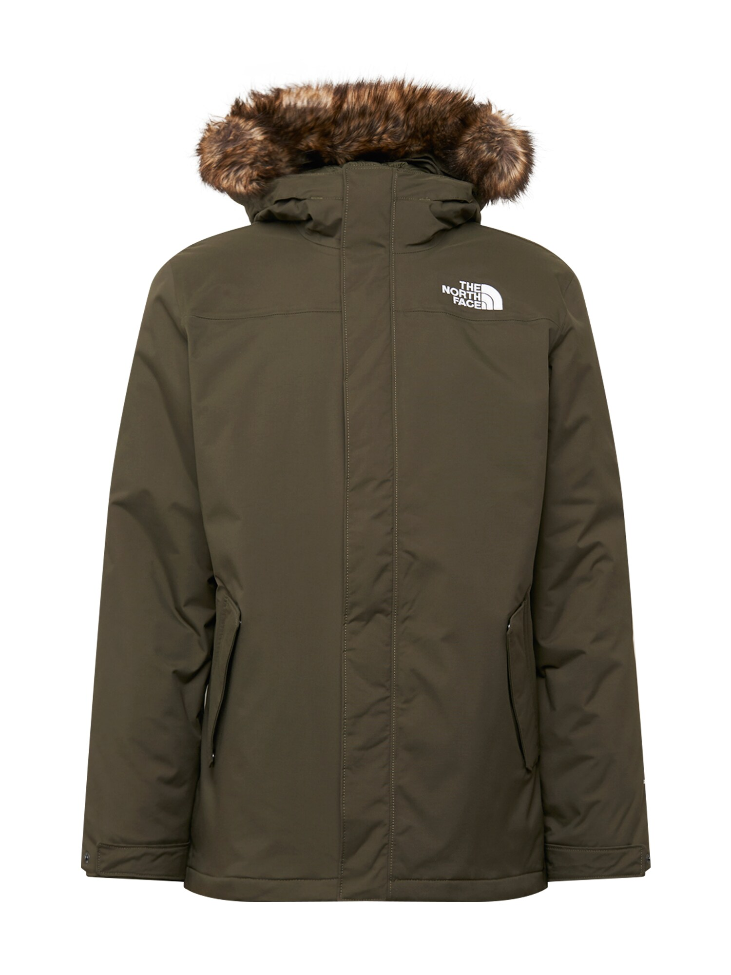 THE NORTH FACE Zimní bunda M RECYCLED ZANECK JACKET khaki The North Face