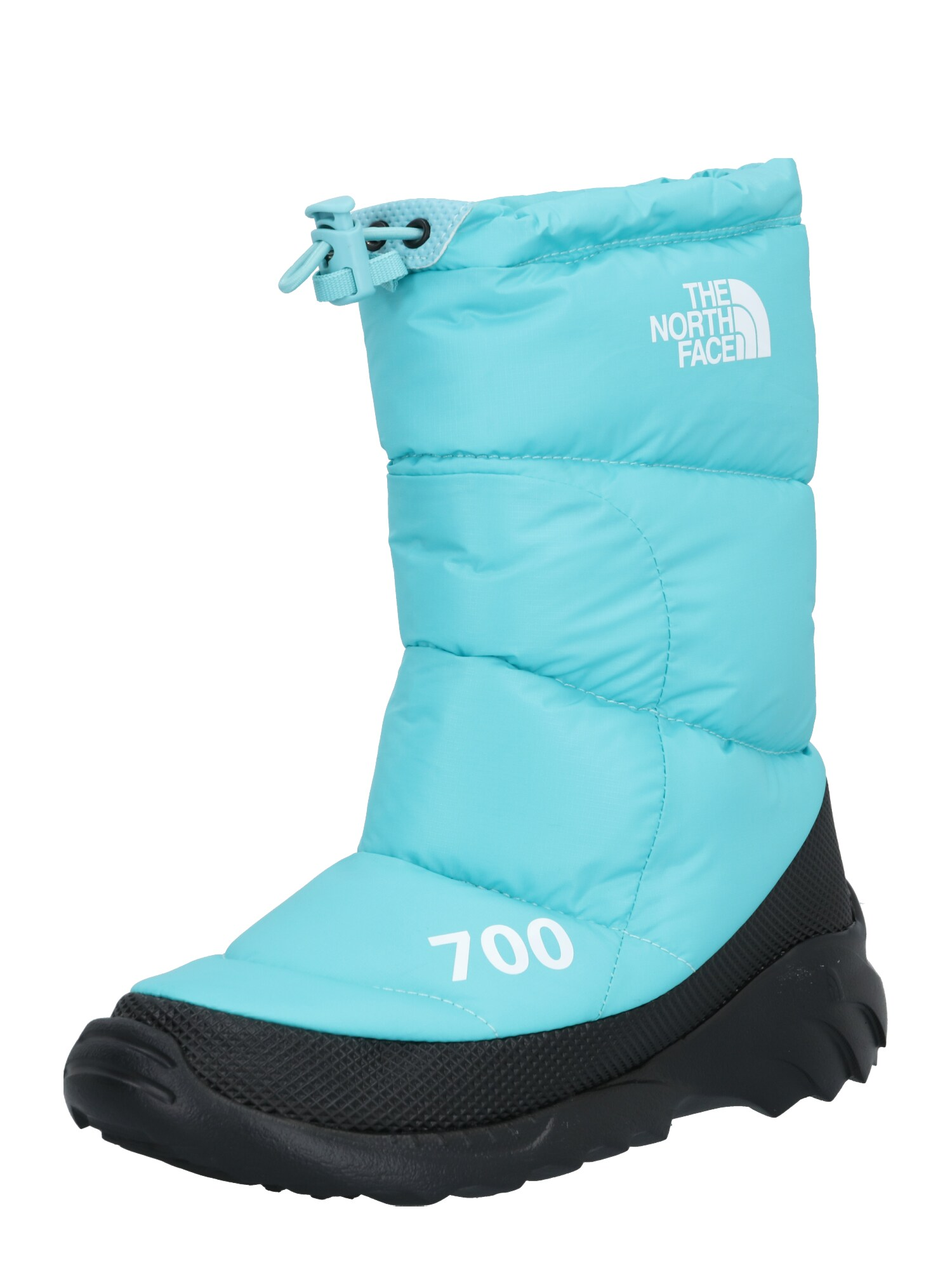 THE NORTH FACE Kozačky Nuptse Bootie 700 bílá modrá The North Face