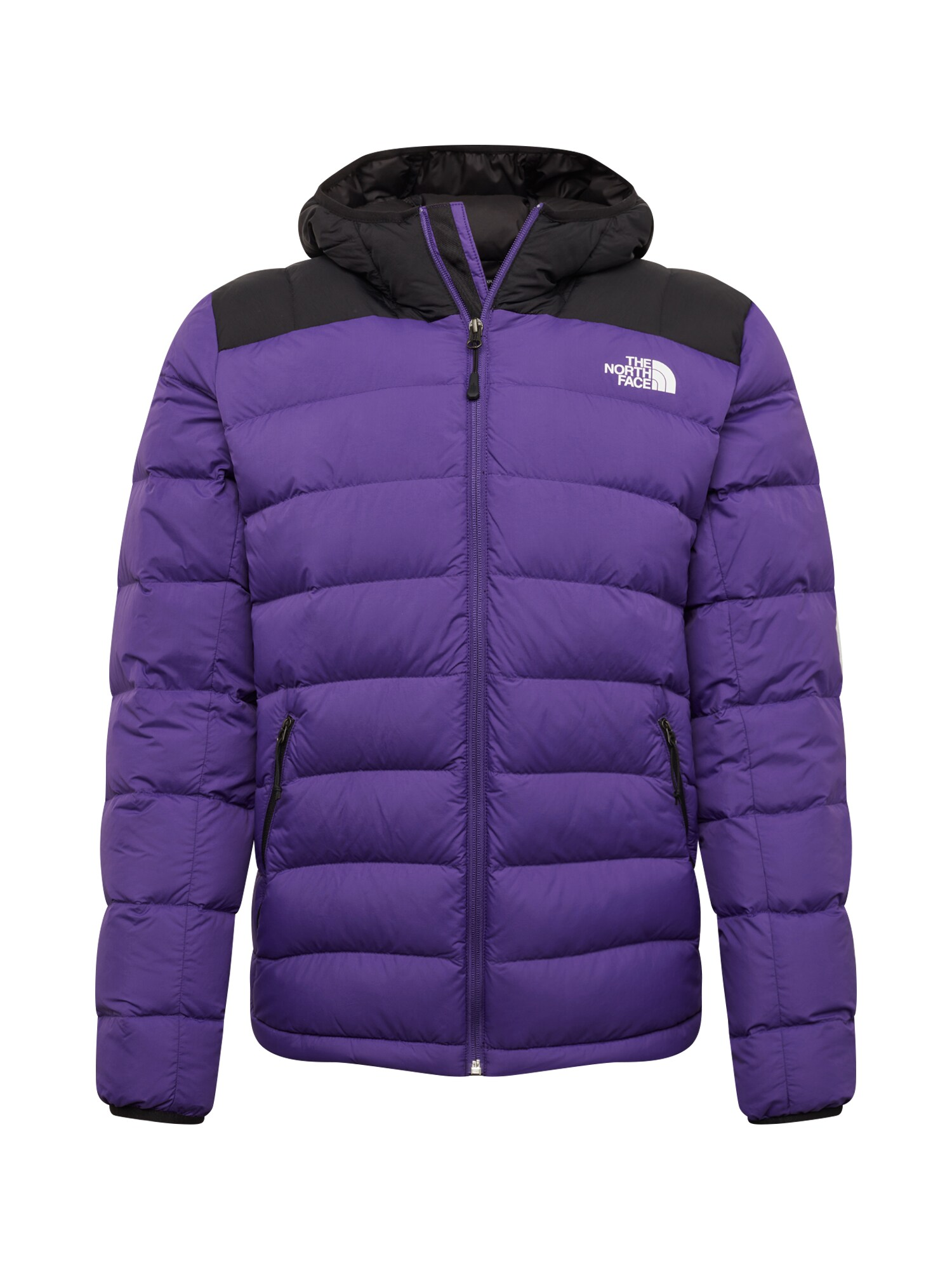 THE NORTH FACE Funkční bunda M LA PAZ HOODED JKT fialová černá The North Face