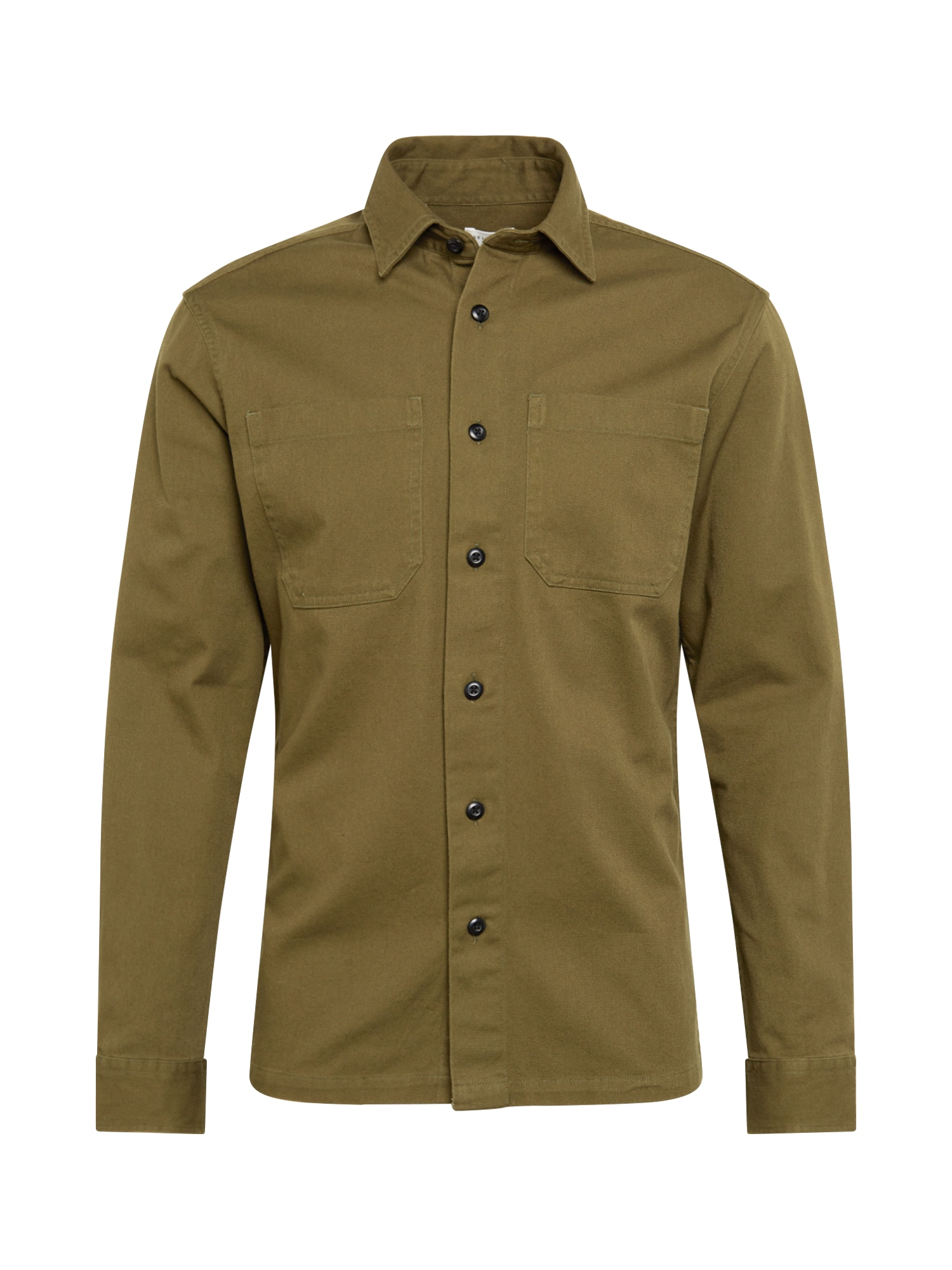 SELECTED HOMME Košile Regsaki khaki Selected Homme