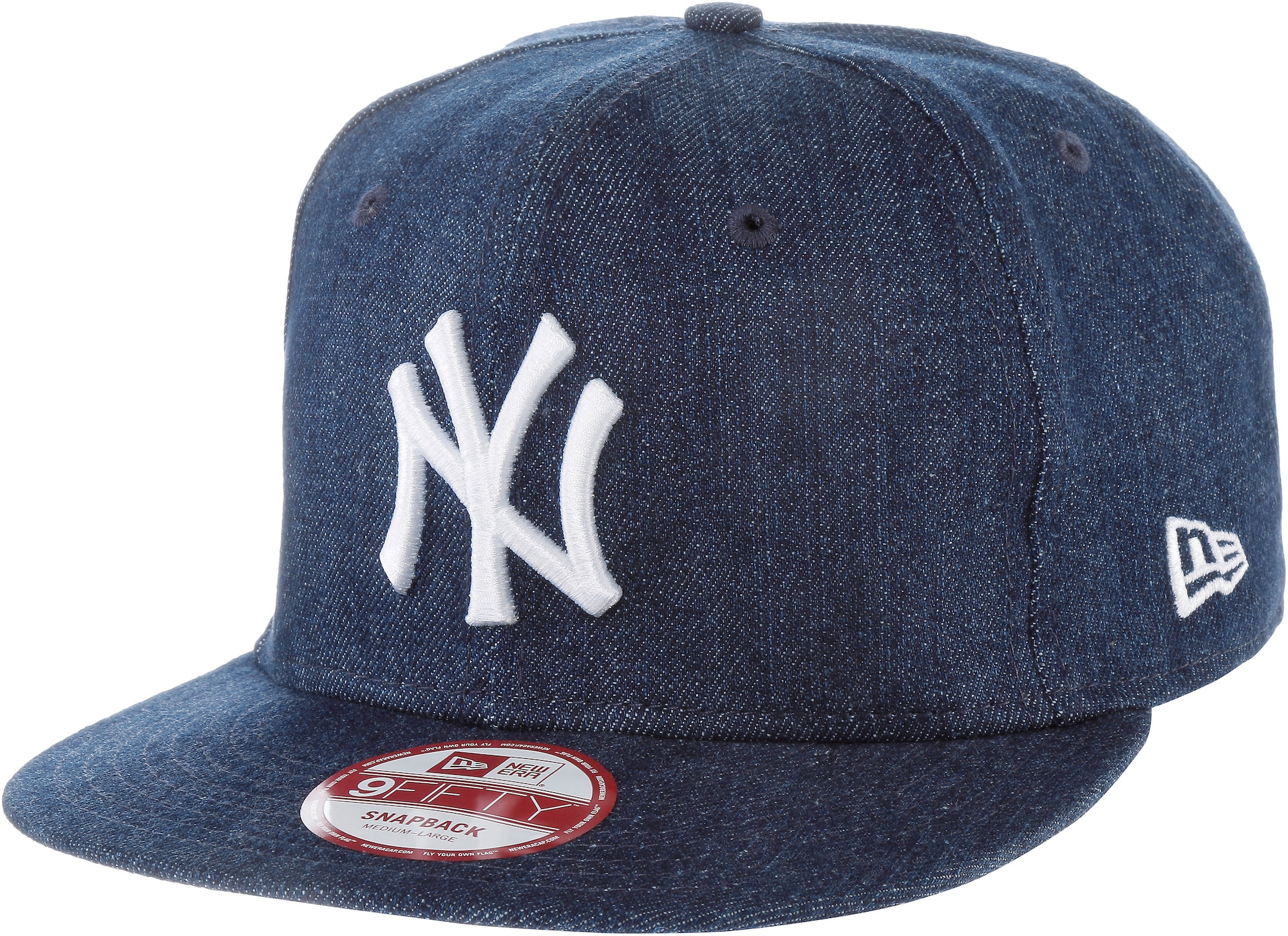 NEW ERA Kšiltovka 9FIFTY League Essential New York Yankees modrá džínovina \New Era