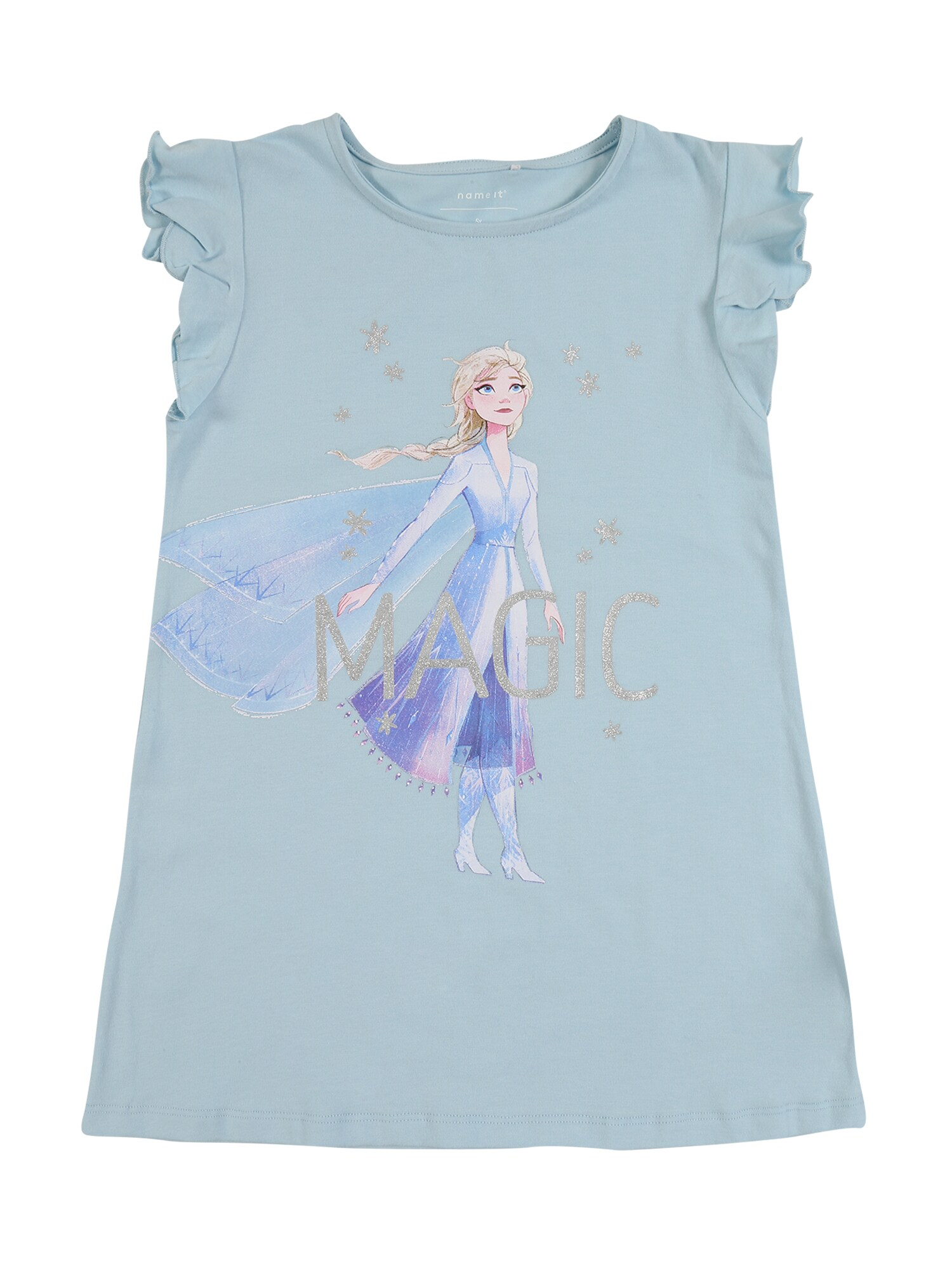 NAME IT Top NMFFROZEN LEXA SS TUNIC WDI modrá name it