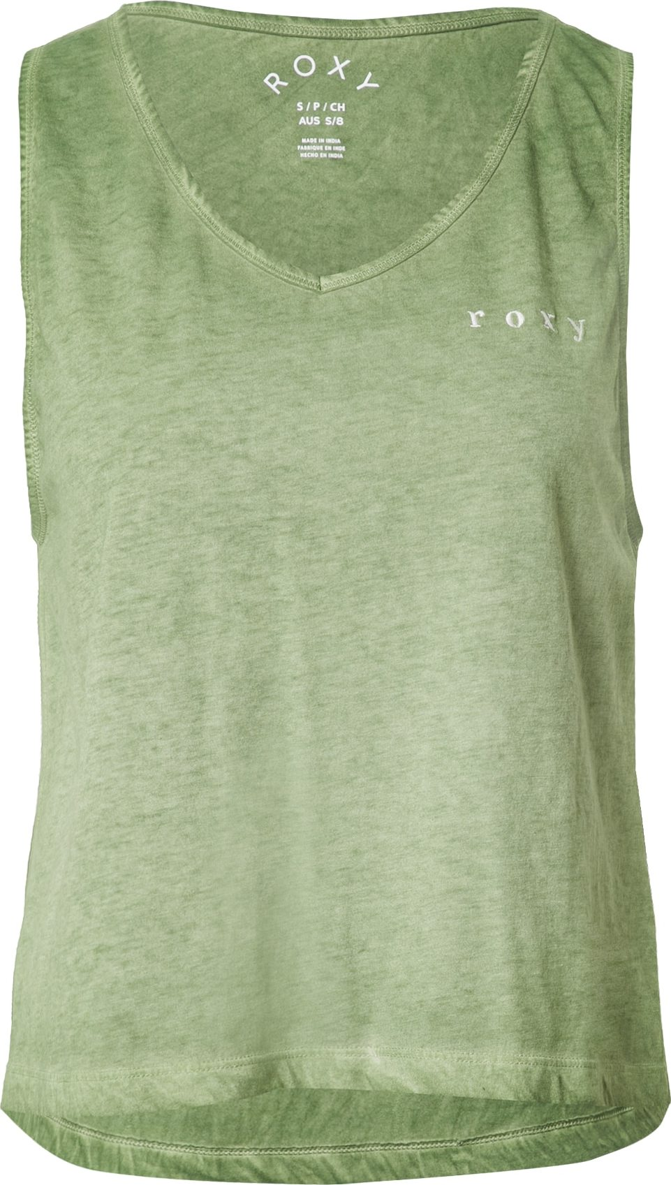 ROXY Top NEED A WAVE khaki bílá Roxy