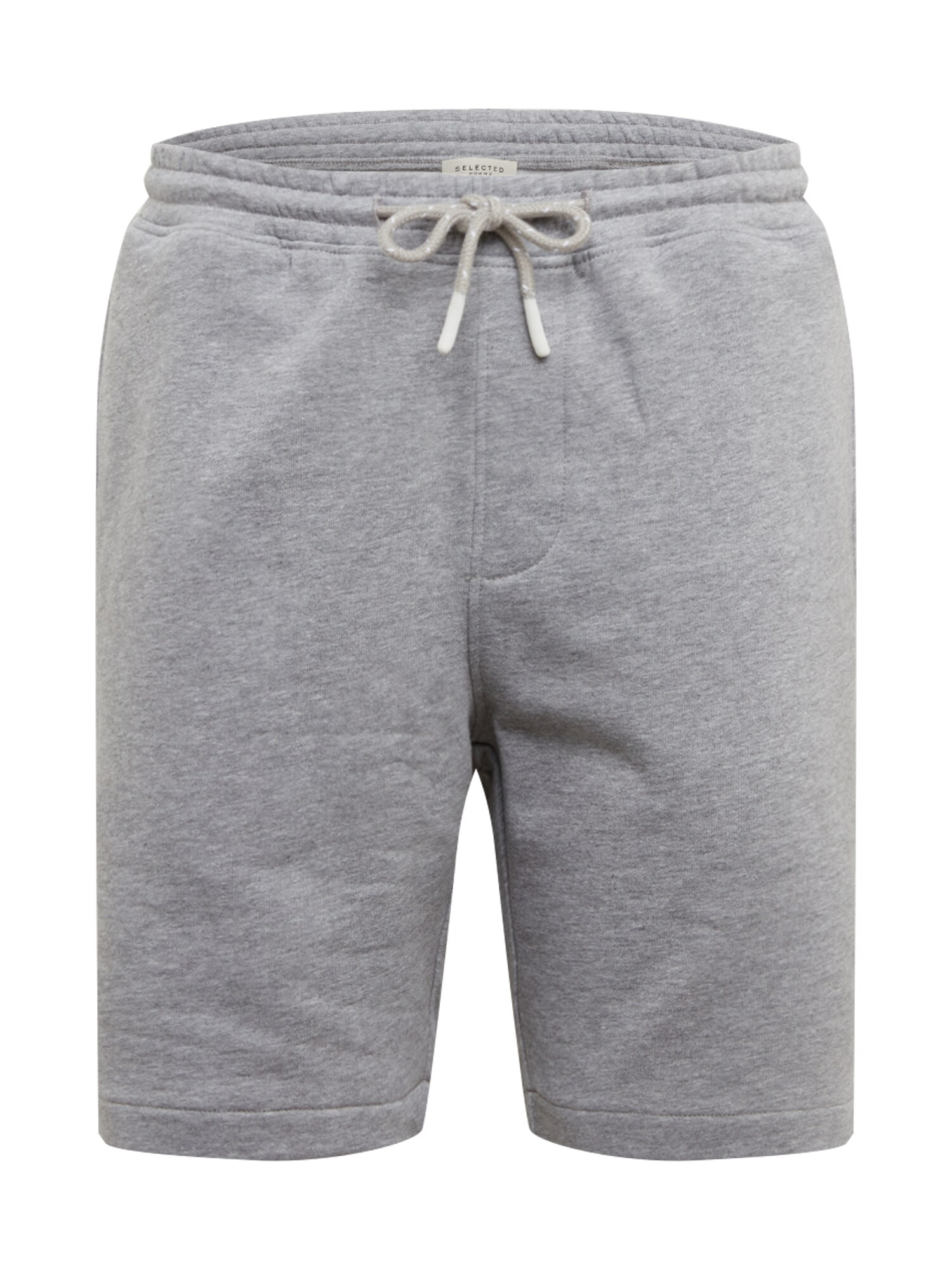 SELECTED HOMME Kalhoty SLHJEFFERSON SWEAT SHORTS W šedá Selected Homme