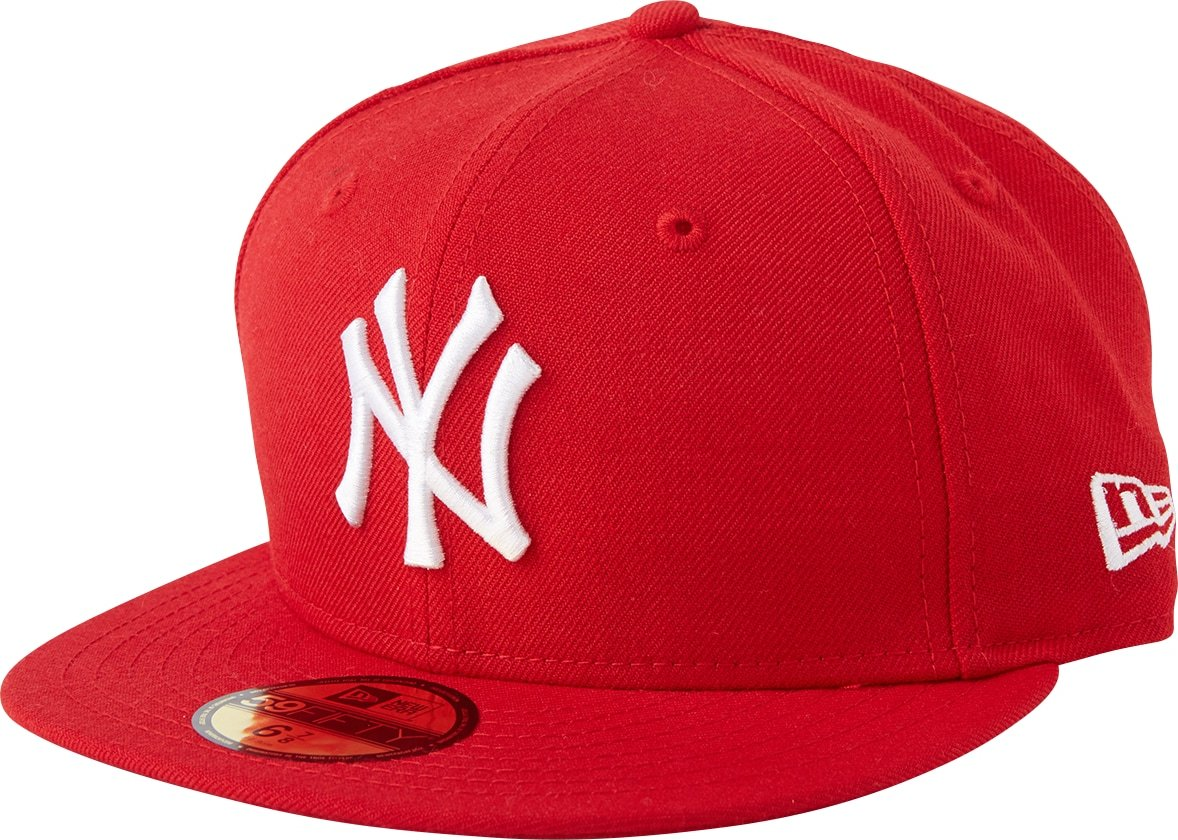 NEW ERA Kšiltovka 59FIFTY MLB Basic New York Yankees červená \New Era