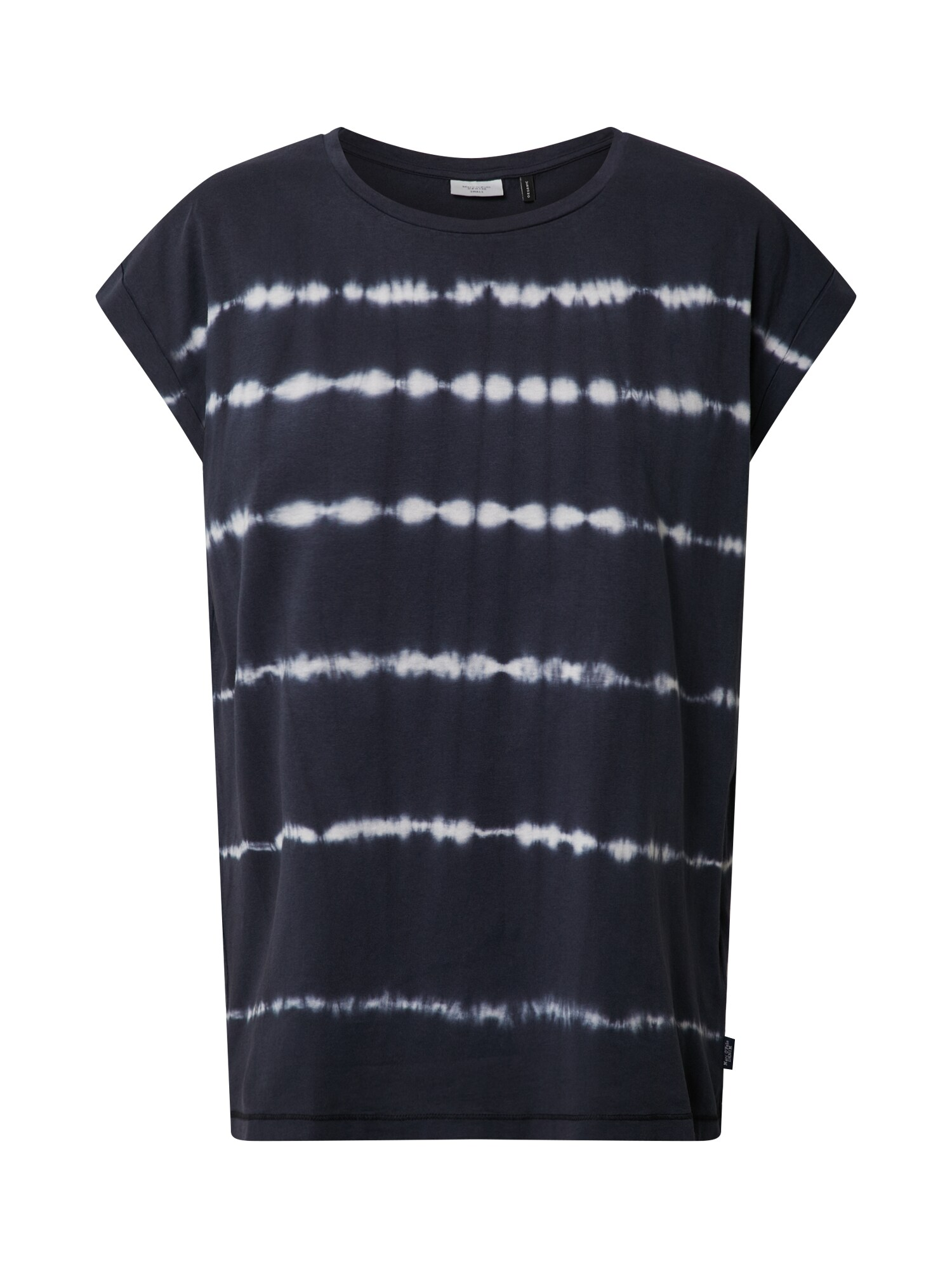 Marc OPolo DENIM Tričko Batik Tee Stripe modrá bílá Marc O'Polo DENIM