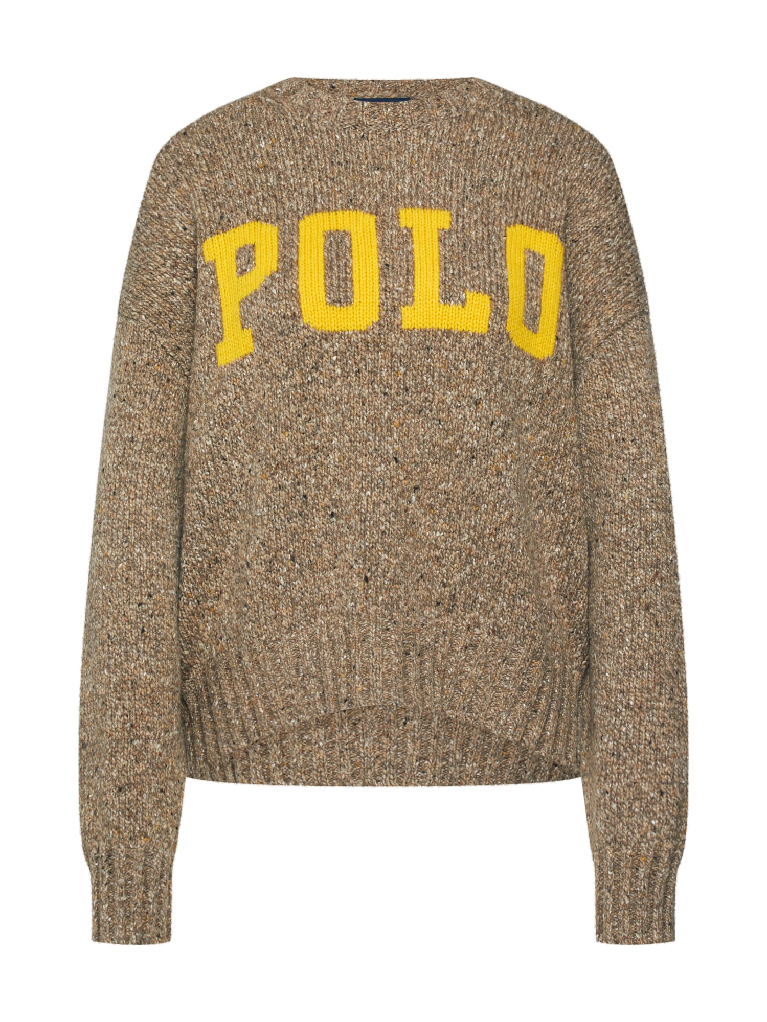 POLO RALPH LAUREN Svetr LS CN-LONG SLEEVE-SWEATER béžová Polo Ralph Lauren