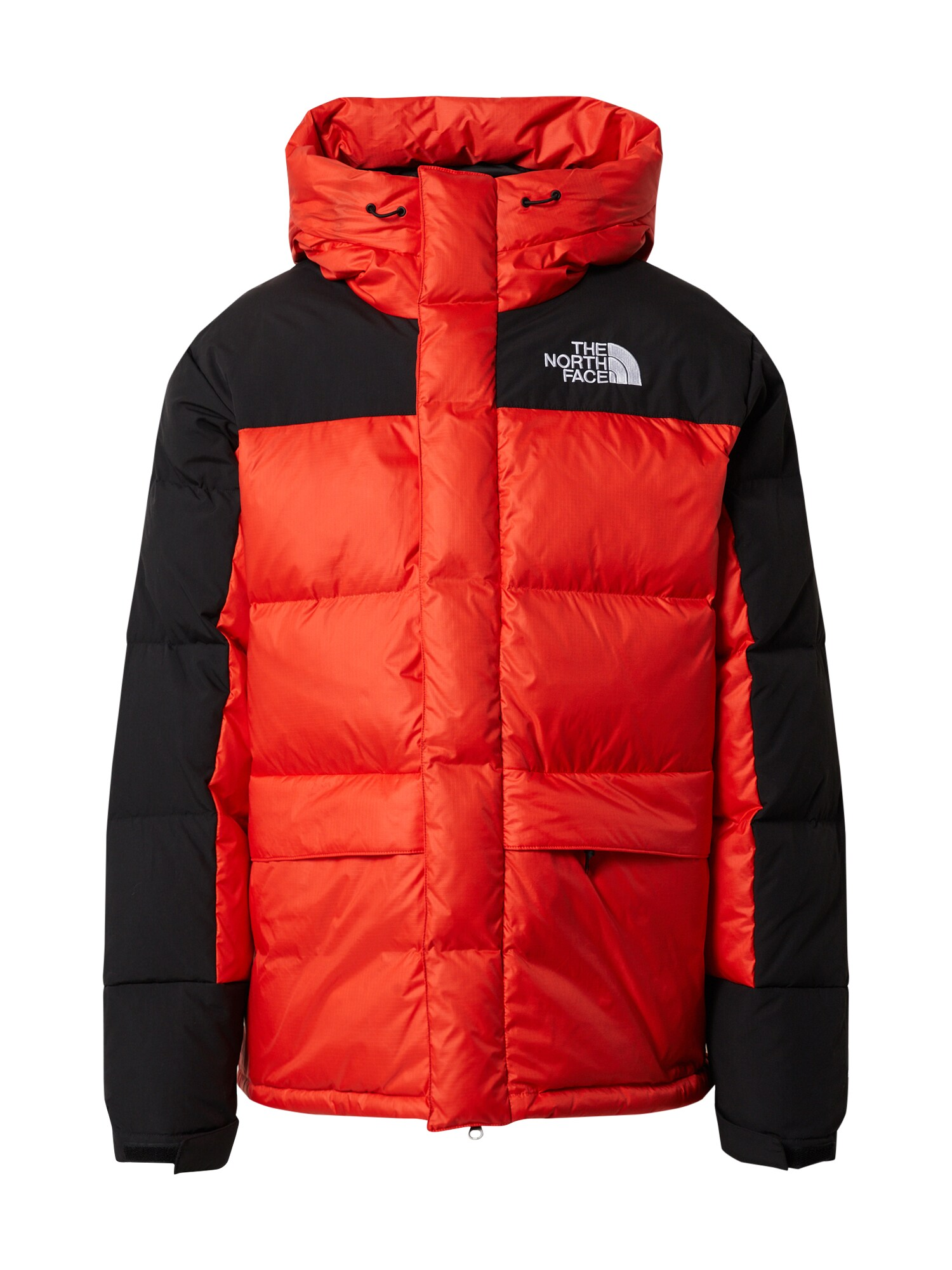 THE NORTH FACE Outdoorová bunda M HMLYN DOWN PARKA černá červená The North Face