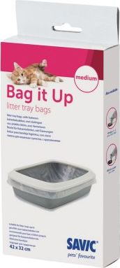 Savic Bag it Up Litter Tray Bags - Medium - 12 ks