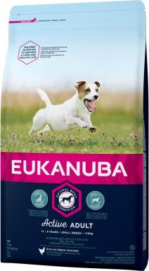 Eukanuba Active Adult Small Breed Kuřecí - 3 kg