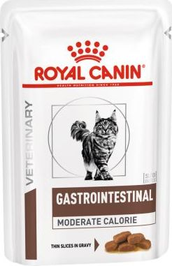 Royal Canin VD Feline Gastro Intestinal Moderate Calorie - 12 x 85 g