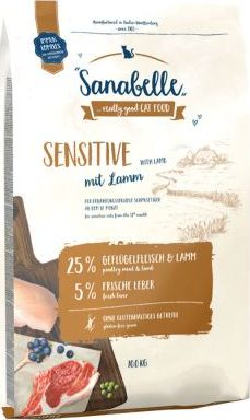 bosch Cat Sanabelle Sensitive Lamb - 10 kg
