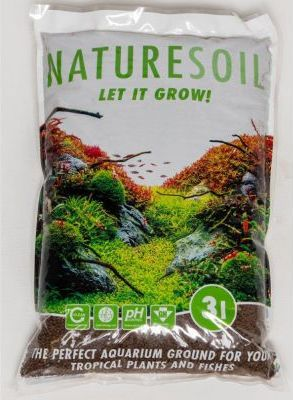 Hnědý substrát Nature Soil - 10 l, normal (4-5 mm)