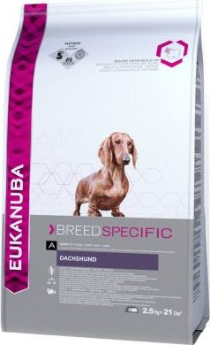 Eukanuba Adult Breed Specific Dachshund - 2,5 kg