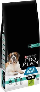 PRO PLAN Large Adult Robust jehněčí & rýže OPTIDIGEST - 14 kg