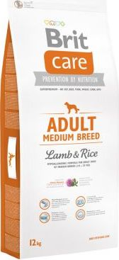 Brit Care Adult Medium Breed Lamb & Rice - 12 kg