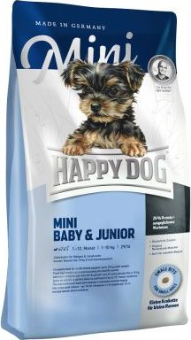 Happy Dog Supreme Mini Baby Junior - Výhodné balení 3 x 4 kg