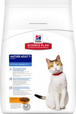 Hill´s Feline Mature Adult 7+ Chicken - 10 kg