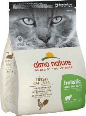 Almo Nature Holistic Anti Hairball Chicken & Rice - 2 kg