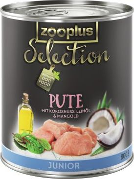 zooplus Selection Junior krůtí - 6 x 400 g