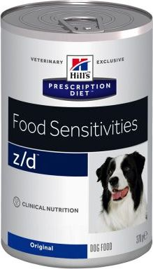 Hills Prescription Diet zd Food Sensitivities Original - Výhodné balení: 24 x 370 g