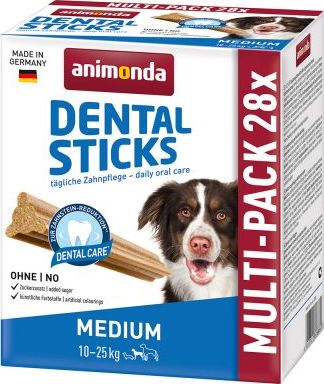 Animonda Multipack Dental Sticks Medium 4 x 180 g - 4 x 180 g (28 tyčinek)