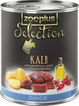 zooplus Selection Junior telecí - 6 x 400 g