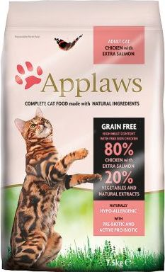 Applaws Adult Cat Chicken Salmon - 7,5 kg