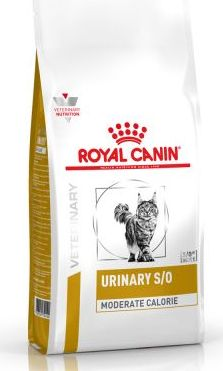Royal Canin VD Feline Urinary S/O Moderate Calorie - 9 kg