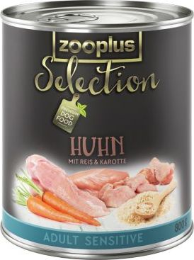 zooplus Selection Adult Sensitive kuřecí rýže - 6 x 400 g