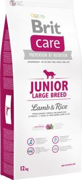 Brit Care Junior Large Breed Lamb & Rice - 12 kg