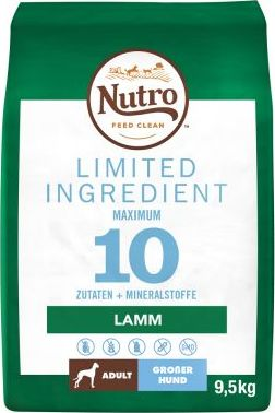 Nutro Limited Ingredient Adult Large pro psy s jehněčím - 9,5 kg